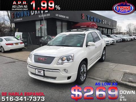 2012 GMC Acadia for sale in Inwood, NY