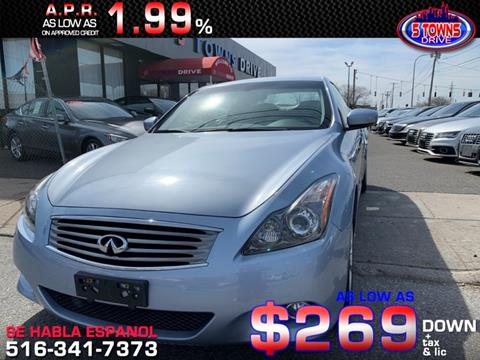 2013 Infiniti G37 Convertible for sale in Inwood, NY