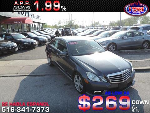 2011 Mercedes-Benz E-Class for sale in Inwood, NY