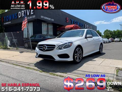 2016 Mercedes-Benz E-Class for sale in Inwood, NY