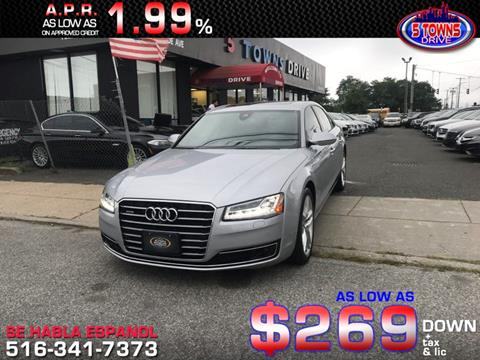 2015 Audi A8 for sale in Inwood, NY