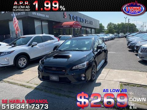 2015 Subaru WRX for sale in Inwood, NY