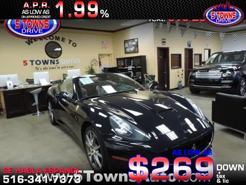 2013 Ferrari California for sale in Inwood, NY
