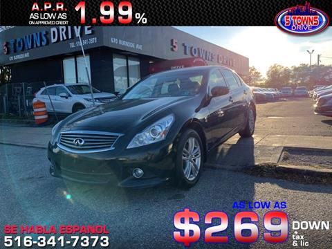 2013 Infiniti G37 Sedan for sale in Inwood, NY