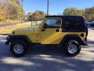 2001 Jeep Wrangler for sale at Car Connections in Kansas City MO