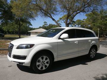 2009 Audi Q7 for sale at Winners Autosport in Pompano Beach FL