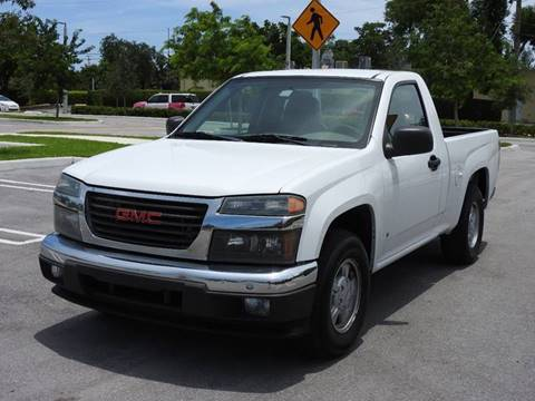 2006 GMC Canyon for sale at Winners Autosport in Pompano Beach FL