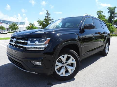 2018 Volkswagen Atlas for sale at Winners Autosport in Pompano Beach FL