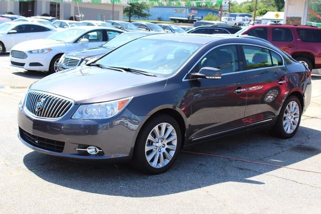 2013 BUICK LACROSSE LEATHER 4DR SEDAN gray stabilitrak stability control system with traction con