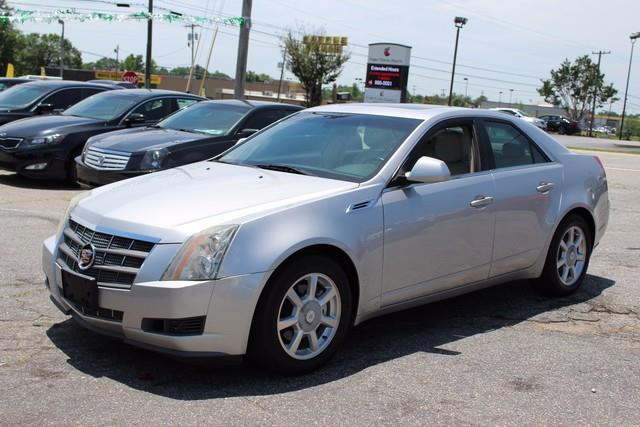 2008 CADILLAC CTS 36L DI 4DR SEDAN silver daytime running lampsair bags dual-stage frontal dr