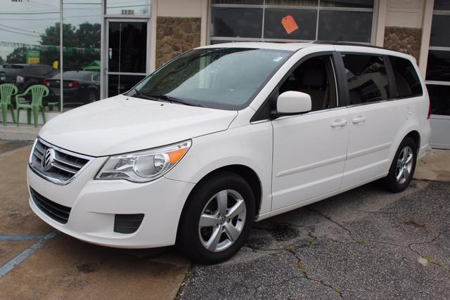 2011 VOLKSWAGEN ROUTAN 4DR WGN SEL WRSE  NAVIGATION white electronic stability program -inc br