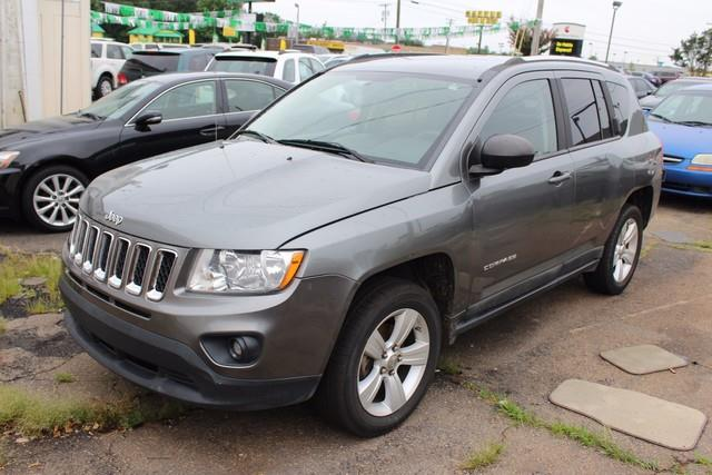 2011 JEEP COMPASS FWD 4DR gray anti-lock front disc brakesrear drum brakeselectronic stability