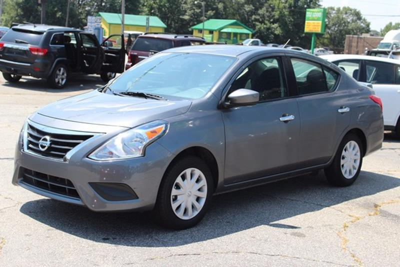 2016 NISSAN VERSA 16 S 4DR SEDAN 4A gray side impact beamsdual stage driver and passenger seat-
