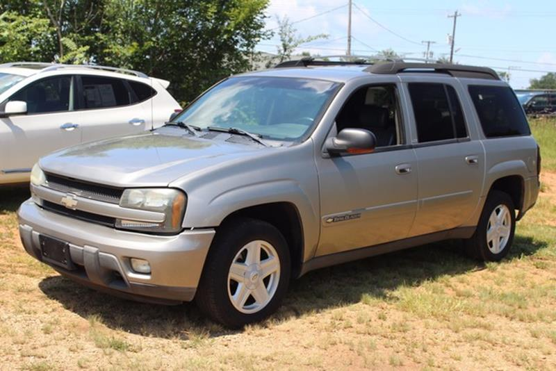 2002 CHEVROLET TRAILBLAZER EXT LT 4WD 4DR SUV pewter driver  front passenger front-impact airbag