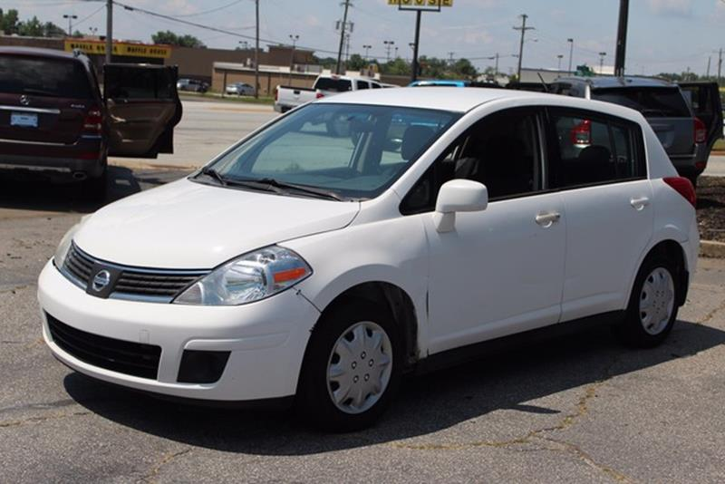 2008 NISSAN VERSA 18 S 4DR HATCHBACK 4A white dual-stage front airbags woccupant classification