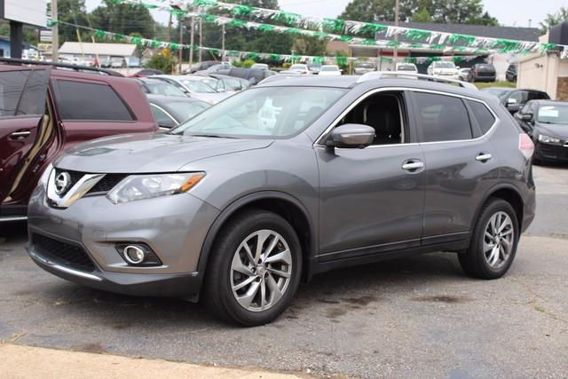 2014 NISSAN ROGUE FWD 4DR SL gray side impact beamsdual stage driver and passenger seat-mounted