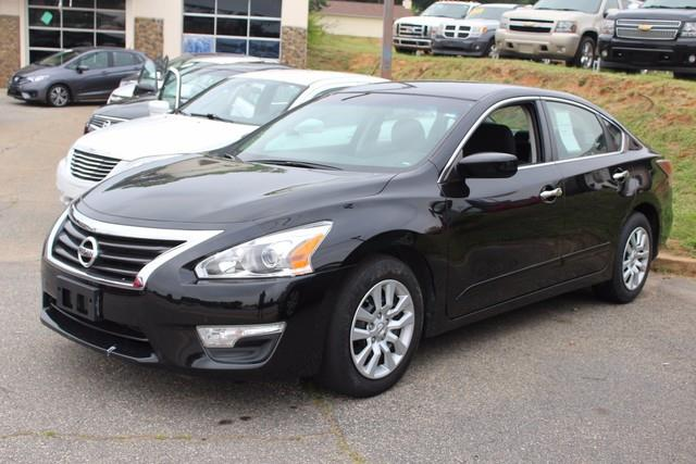 2015 NISSAN ALTIMA 4DR SDN I4 25 S black side impact beamsdual stage driver and passenger seat-