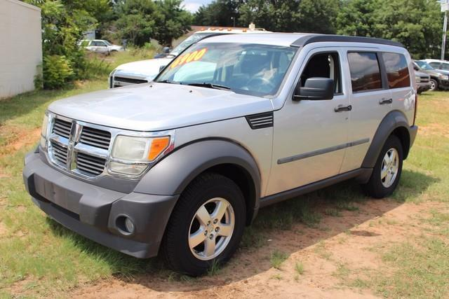 2007 DODGE NITRO SXT 4DR SUV silver driver  front passenger multistage airbags woccupant classi