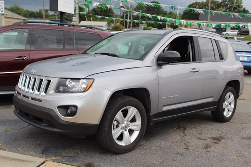 2016 JEEP COMPASS 4WD 4DR SPORT silver side impact beamsdual stage driver and passenger seat-mou