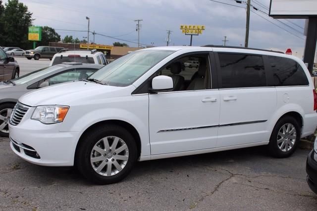 2015 CHRYSLER TOWN AND COUNTRY TOURING 4DR MINI VAN white side impact beamsdual stage driver and