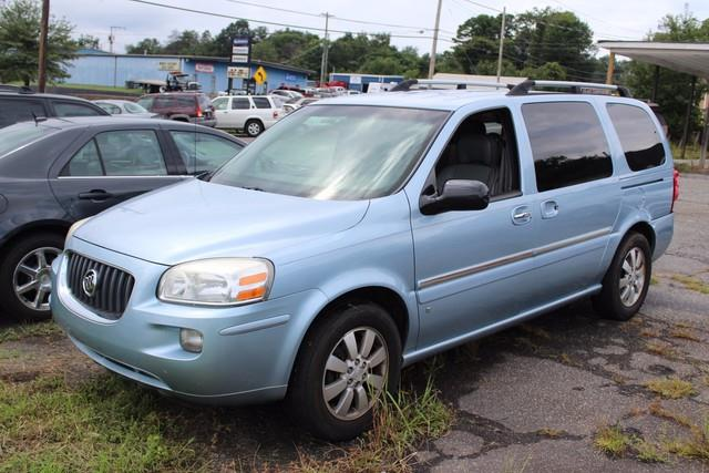 2007 BUICK TERRAZA CXL 4DR MINI VAN blue safety belts 3-point all seating positions includes c