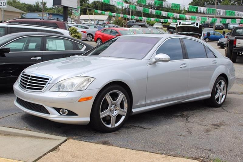 2008 MERCEDES-BENZ S-CLASS S 550 4DR SEDAN silver driver  front passenger adaptive dual-stage ai