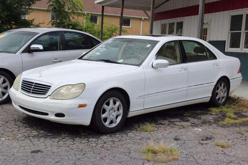 2000 MERCEDES-BENZ S-CLASS S 430 4DR SEDAN white driver  front passenger front airbag supplement