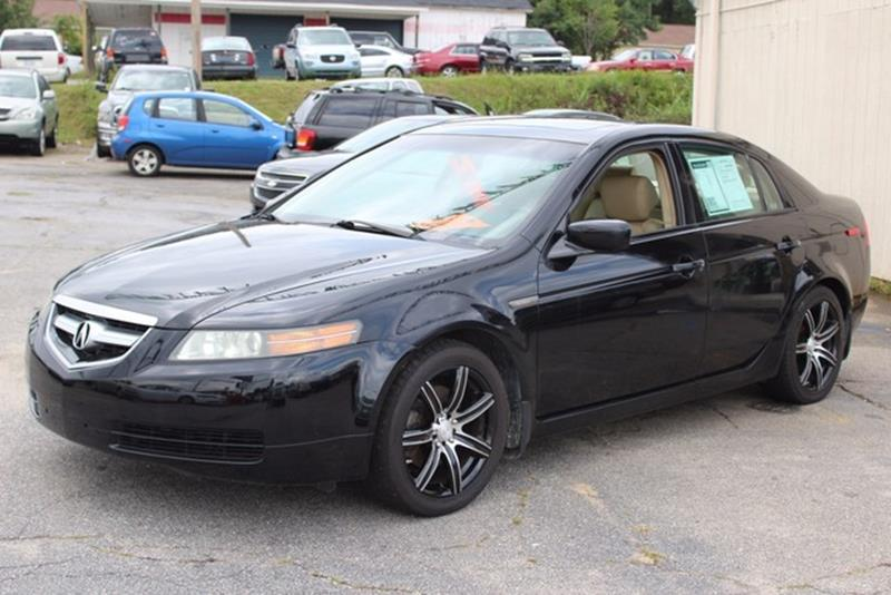 2006 ACURA TL 4DR SDN AT black dual stagethreshold driver  front passenger airbag supplemental