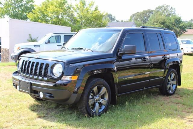 2014 JEEP PATRIOT LATITUDE 4DR SUV black side impact beamsdual stage driver and passenger seat-m