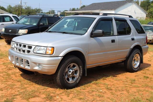 2001 ISUZU RODEO 4DR LS 32L AUTO 4WD silver driver  front passenger airbagsfrontrear outboard