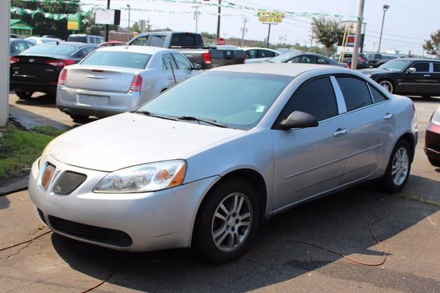2006 PONTIAC G6 4DR SDN silver air bags dual-stage frontal driver and right front passenger a