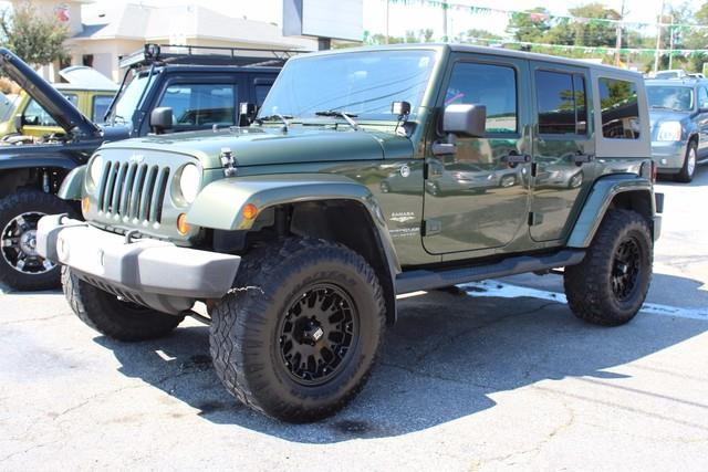 2008 JEEP WRANGLER UNLIMITED SAHARA 4X4 4DR SUV