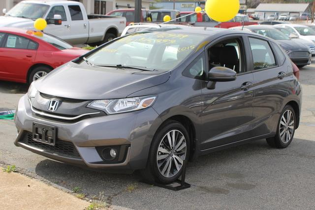 2015 HONDA FIT 5DR WAGON gray air bagdual air bagstraction controlair conditioningcruise cont