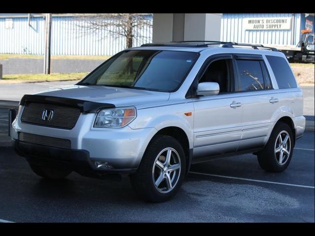 2008 HONDA PILOT EX-L 4X4 4DR SUV gray 4x4abs brakes air conditioningbucket seatsclimate cont