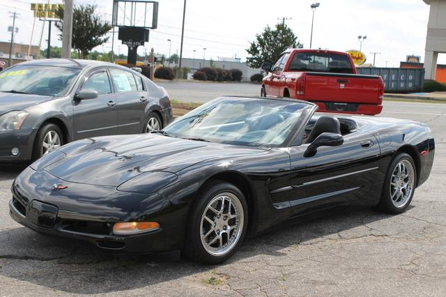 1999 CHEVROLET CORVETTE BASE 2DR CONVERTIBLE black 6-way power driver seatair conditioning wcfc