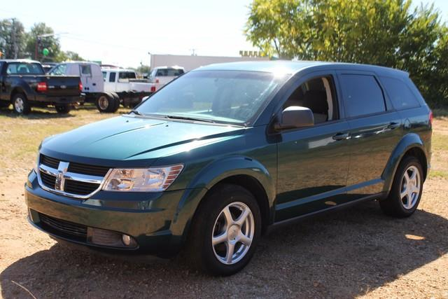 2009 DODGE JOURNEY SXT 4DR SUV green advanced multi-stage frontal airbagschild protection rear d