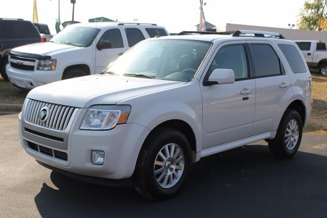 2010 MERCURY MARINER PREMIER I4 AWD 4DR SUV white belt-minder front seat safety belt reminderdua