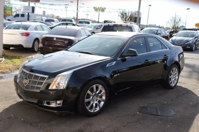 2009 CADILLAC CTS 36L V6 4DR SEDAN W 1SA black daytime running lampsair bags dual-stage front
