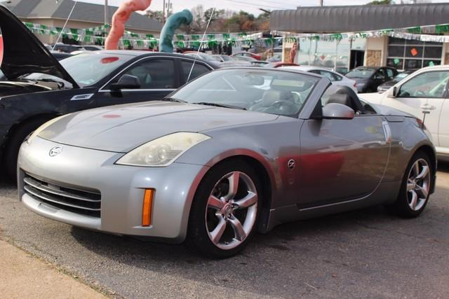 2006 NISSAN 350Z TOURING CONVERTIBLE gray dual stage supplemental air bags wseat belt sensorssi