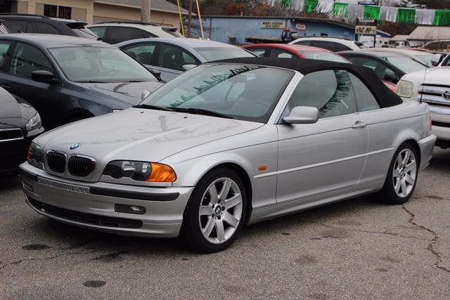 2001 BMW 3 SERIES 325CI 2DR CONVERTIBLE silver driver  front passenger airbag supplemental restr