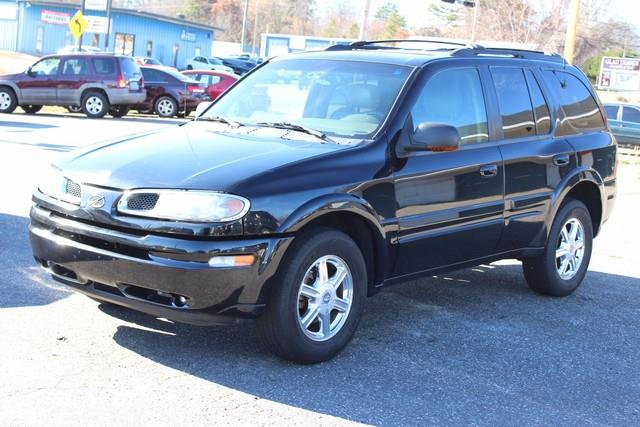 2002 OLDSMOBILE BRAVADA BASE AWD 4DR SUV black driver  front passenger airbagsdriver  front pa