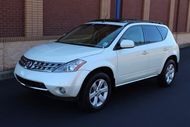 2006 NISSAN MURANO 4DR SL V6 white nissan advanced airbag system aabs-inc driver  front passe
