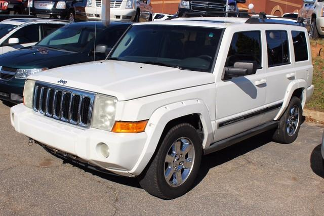 2007 JEEP COMMANDER LIMITED 4DR SUV 4WD white driverfront passenger advanced multistage airbags