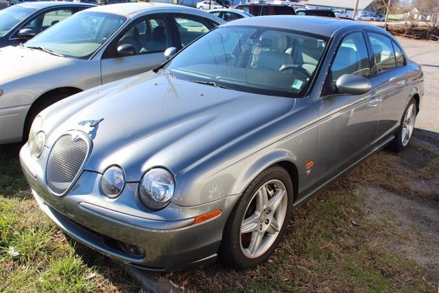 2003 JAGUAR S-TYPE R BASE R 4DR SUPERCHARGED SEDAN gray front airbags for driver  front passenge