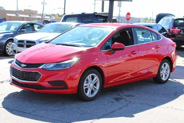 2016 CHEVROLET CRUZE LT AUTO 4DR SEDAN W1SD red stabilitrak stability control systemair bags