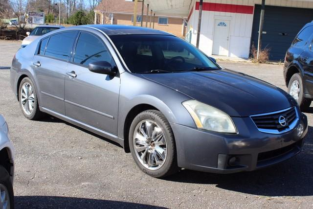 2007 NISSAN MAXIMA 4DR SDN V6 CVT 35 SE gray driver  front passenger dual stage airbags wseat