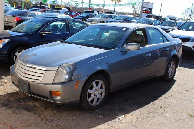 2006 CADILLAC CTS BASE 4DR SEDAN W28L gray air bags frontal and side-impact with head curtain