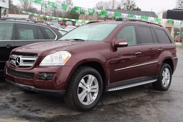 2008 MERCEDES-BENZ GL-CLASS GL 450 4MATIC AWD 4DR SUV red 1st  2nd row side-impact airbagsside-