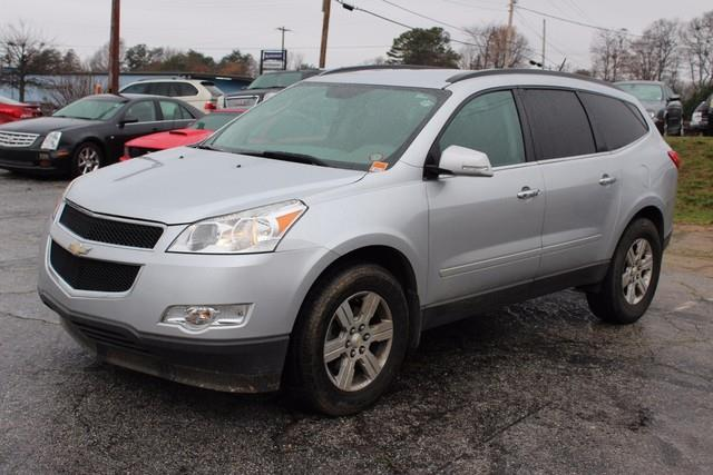 2011 CHEVROLET TRAVERSE LT 4DR SUV W1LT silver daytime running lampsair bags frontal and side-