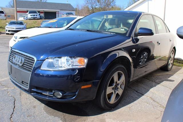 2006 AUDI A4 20T QUATTRO AWD 4DR SEDAN 2L I blue driverfront passenger next generation frontal